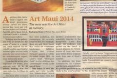 Maui-Weekly-ArticleArt-Maui-2014